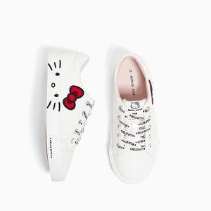 Zara Hello Kitty sneakers